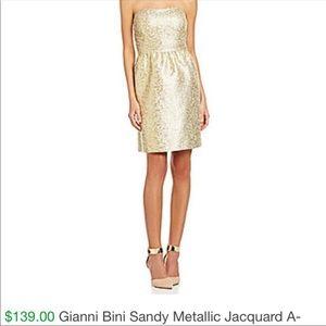 Gianni Bini Gold Dress
